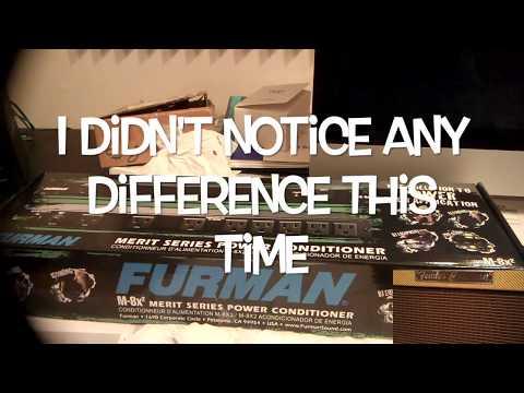 Furman M-8X2 Review - EMI & RFI Are Detrimental to Your Guitar Tone