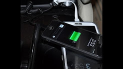 Pure.Gear Car Charger with USB port for iPhone 5