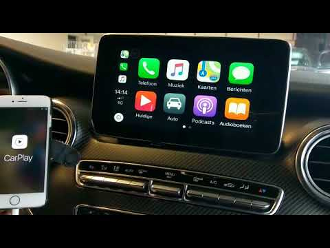 mercedes v class android auto