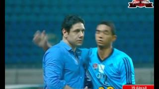 أهداف مباراة الأهلي 1 غزل المحلة 1 رمضان صبحي الدوري 18 فبراير 2016