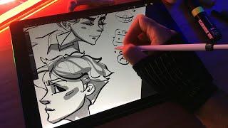 Основные ошибки в рисовании персонажей