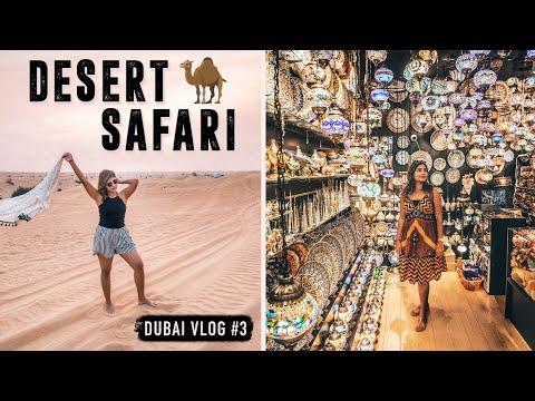 OLD DUBAI AND DESERT SAFARI: Dune Bashing, Quad Biking and Belly Dancing! 🐪 | Kritika Goel