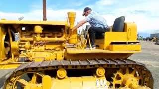 Dads Restored 1937 RD-7 Caterpillar Crawler Tractor  |  Dad Takes It For A Drive