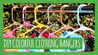 Personalize Hangers To Organize Your Closet- Hgtv Handmade