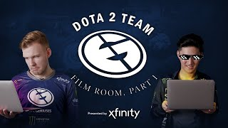 Film Room: Dota 2 | Part 1 - Presented by Xfinity