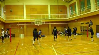 多田さん スーパーセッターの三連発と後衛でも前衛でプレーする.mp4 多田さん 検索動画 24