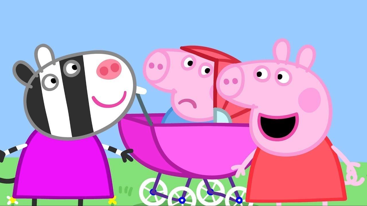 peppa wutz das baby schweinchen peppa pig deutsch neue folgen cartoons f r kinder youtube. Black Bedroom Furniture Sets. Home Design Ideas
