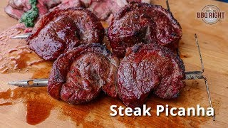 Sirloin Picanha Recipe | Picanha Steak cooked on a Pit Barrel Cooker