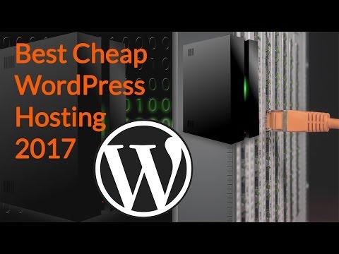 Best Cheap WordPress Hosting 2017