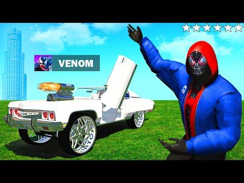 SPIDERMAN findet VENOMS Auto in GTA 5 RP!