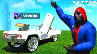 SPIDERMAN findet VENOMS Auto in GTA 5 RP!