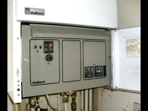 Vaillant VCW / VC Boiler: General information - YouTube