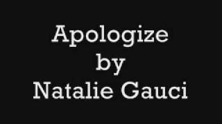 Watch Natalie Gauci Apologize video