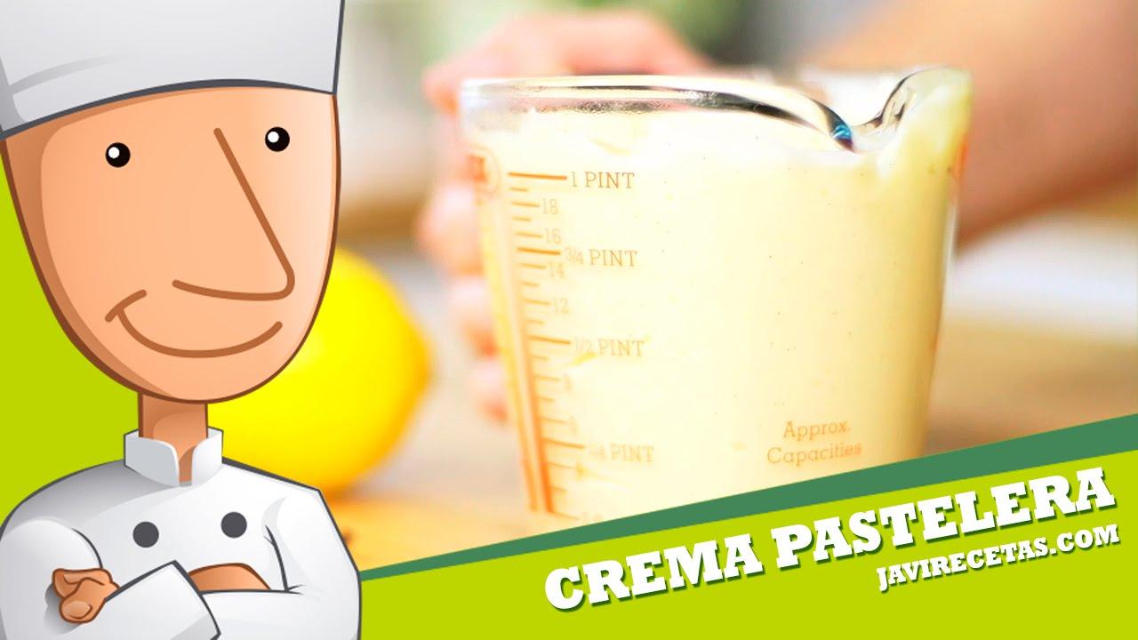 Crema Pastelera - Javi Recetas