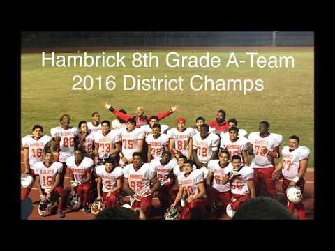 Boys of Fall - Hambrick Middle School - Aldine ISD