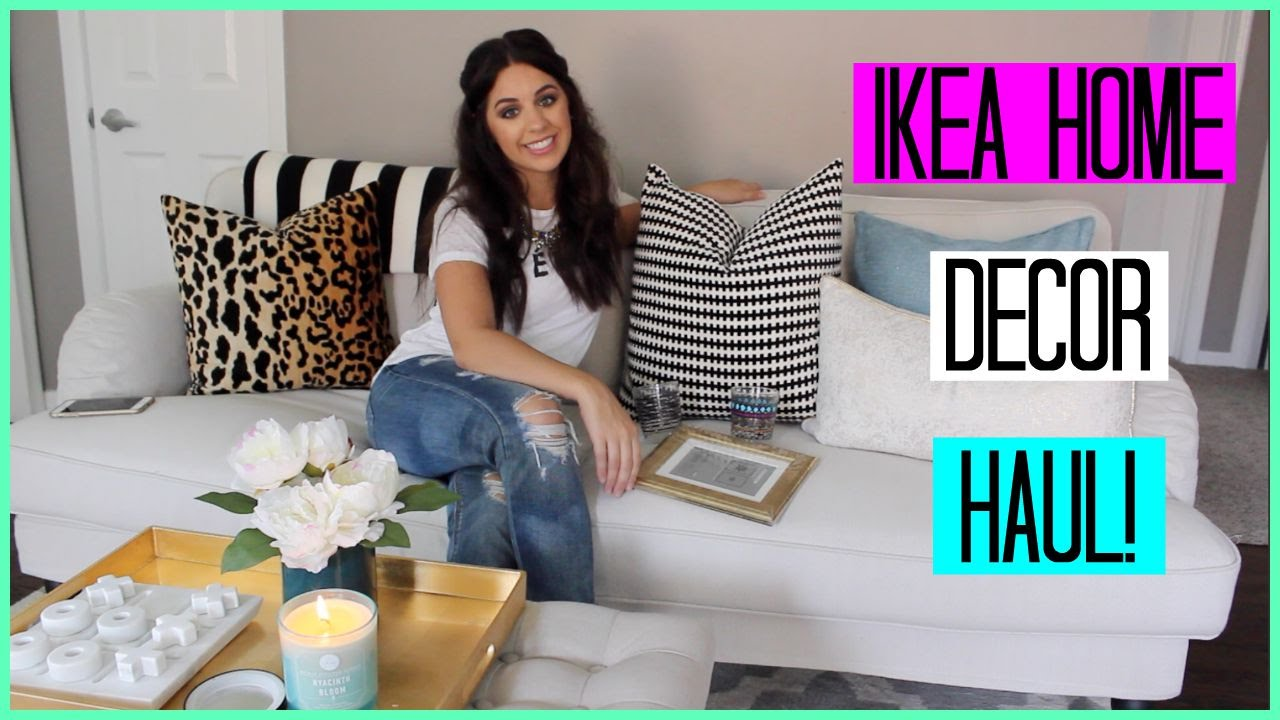 IKEA HOME DECOR HAUL!   YouTube
