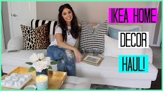 IKEA HOME DECOR HAUL!