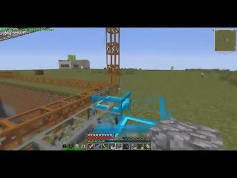 Minecraft | Shadowcraft | Hitech-#19 (Добыча с карьера)