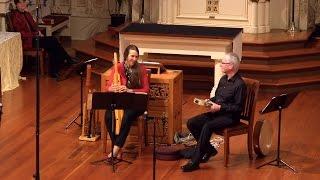 Lai de Aelis and La Quinte Estampie: Cheryl Ann Fulton, medieval harp; Peter Maund, riq