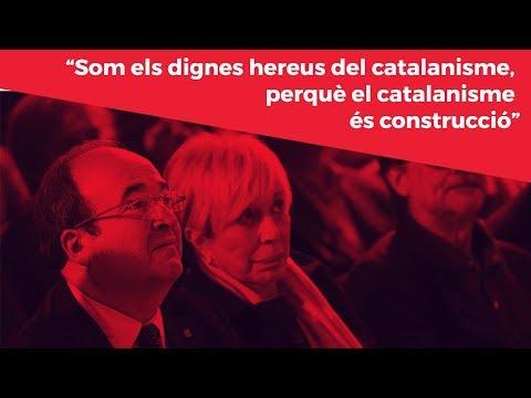 Som els dignes hereus del catalanisme, perquè el catalanisme és construcció