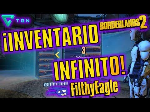 ¡Inventario Infinito!   Borderlands 2
