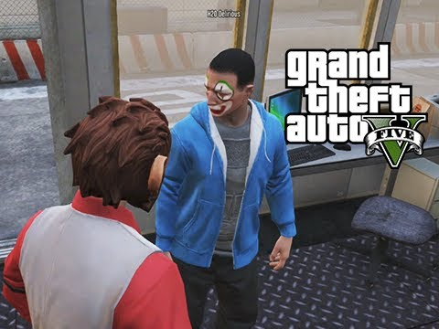 GTA 5 Online Delirious's New Job,