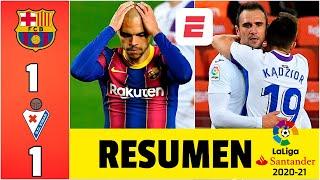 Barcelona 1-1 Eibar. El Barca dejó 2 puntos en el Camp Nou. No jugó Messi. GOL de Dembélé. | LaLiga