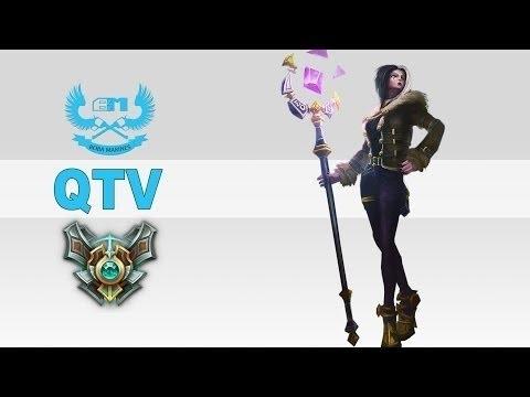 QTV Troll cầm LeBlanc giết 20 xác, troll team bạn phong cách Siv.