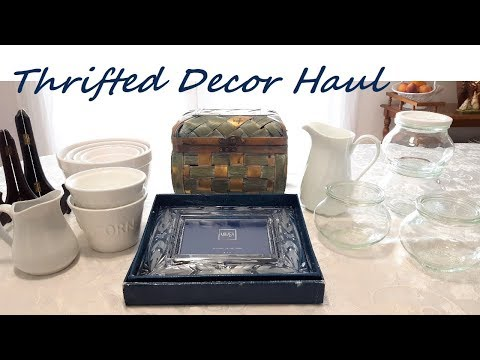 Thrifted Summer Home Decor Haul ~ Affordable Home Decor ~  My Quaint Cottage