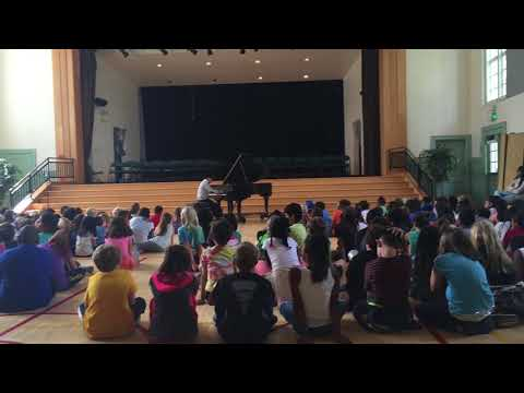 Joshua Plays Piano at Malcolm X Elementary School 2015