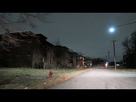 LATE NIGHT IN DETROIT'S MOST ABANDONED HOODS