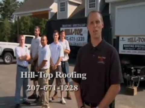 Hilltop Roofing is Maine 's Premier Roofing Contractors 207-671-1228