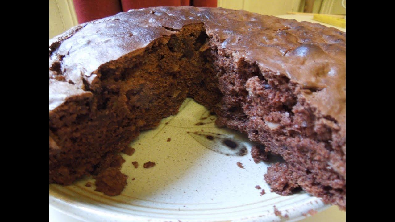 Gâteau au Chocolat Recette simplissime sans beurre et sans ...