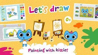 Kit^n^Kate! Let's draw Android version