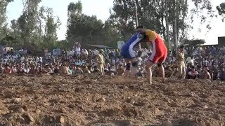 Girl wrestlers participate in Kathua wrestling competition