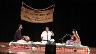 SRI. R K Padmanabha - Gajavadana Beduve - Ugadi NEKK 2016