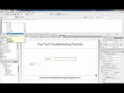 Script Editor Basics in Adobe LiveCycle ®