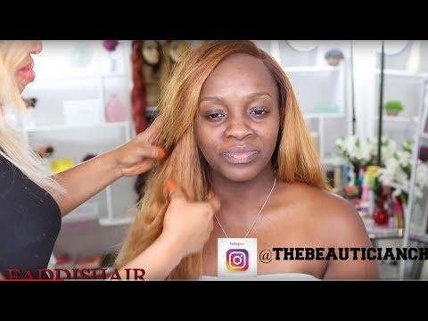CLIENT HAIR AND MAKEUP TRANSFORMATION VLOG 16|FADDISHAIR