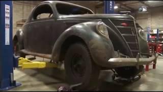 Коллекционеры авто  Lincoln Zephyr Coupe V12 1937 10серия