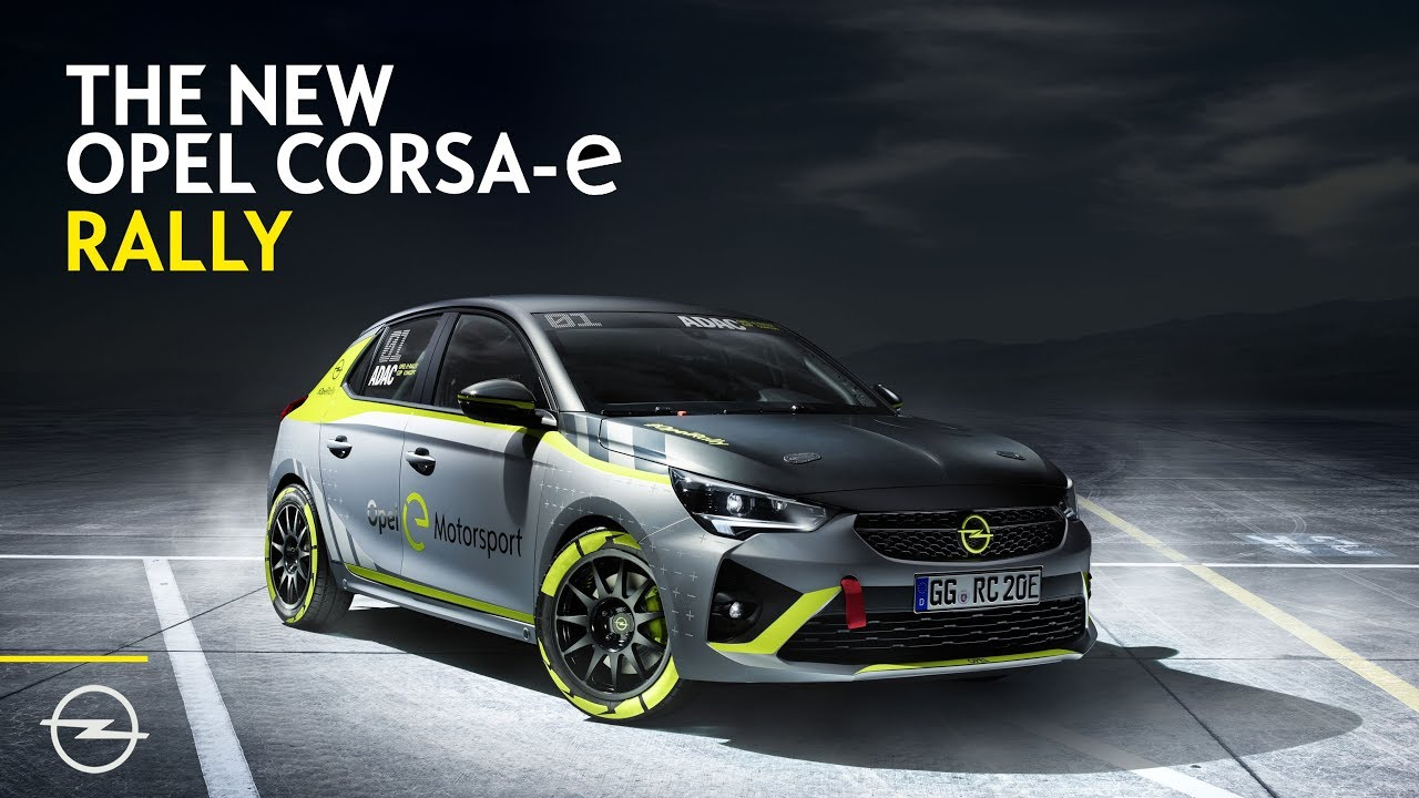 Opel: First Carmaker to Present Electric Rally Car - YouTube