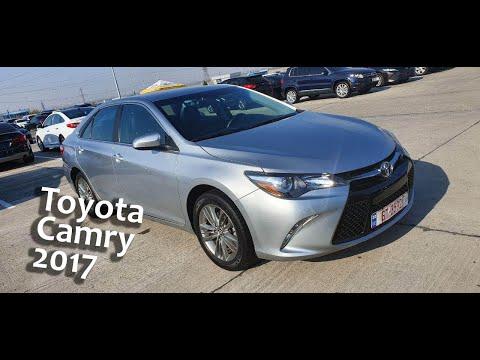 Обзор Toyota Camry 2017 год! Тайота Камри 2017