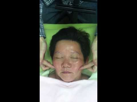 Skin pigmentation face massage (Part 4 - acupressure)