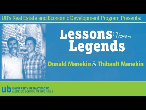 Lessons From Legends In Real Estate: Donald and Thibault Manekin