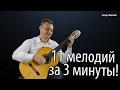 11 Русских народных мелодий на Гитаре mp3