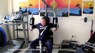 THE FULL MULTI gym workout, Tuesday + progress Sheet