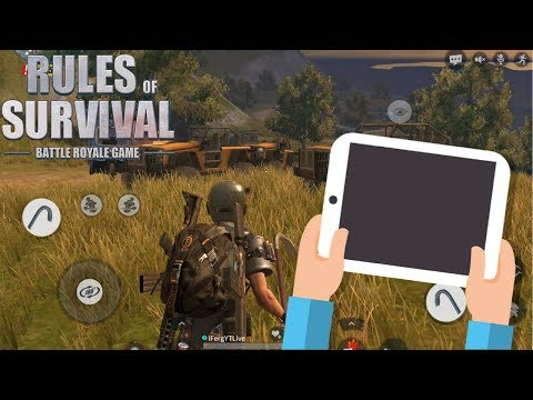 They Say I'm Hacking ! | Showing my Hands on Rules Of Survival | Best Way to Play ROS