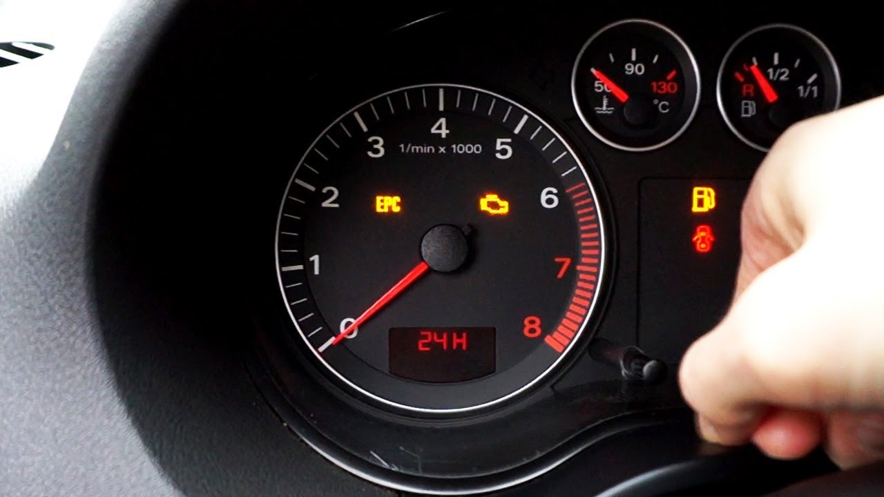 Audi A3 8p Setting Clock In The Instrument Cluster Youtube