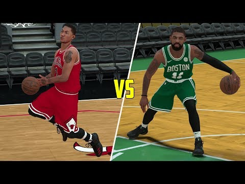 MVP Derrick Rose Vs Kyrie Irving! NBA 2K18 Challenge Gameplay!