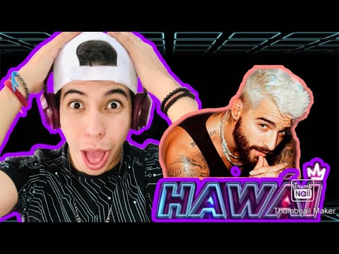 Maluma - Hawái //REACCIÓN\\\\ (Video Official)