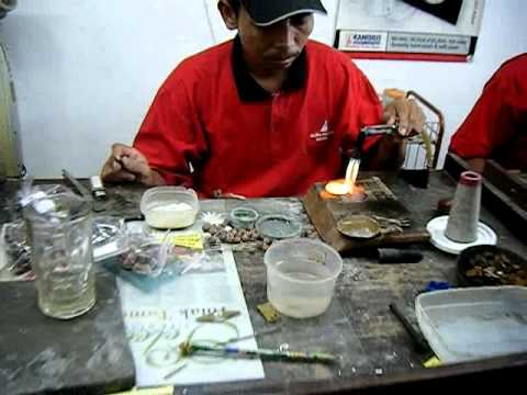 Indonesian Silver Worker